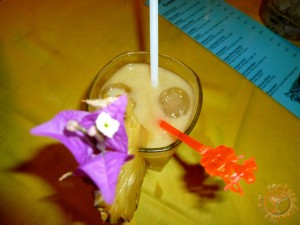 Tropical Drink at Unawatuna Beach Sri Lanka