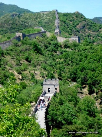 The Great Wall at Mu Tian Yu