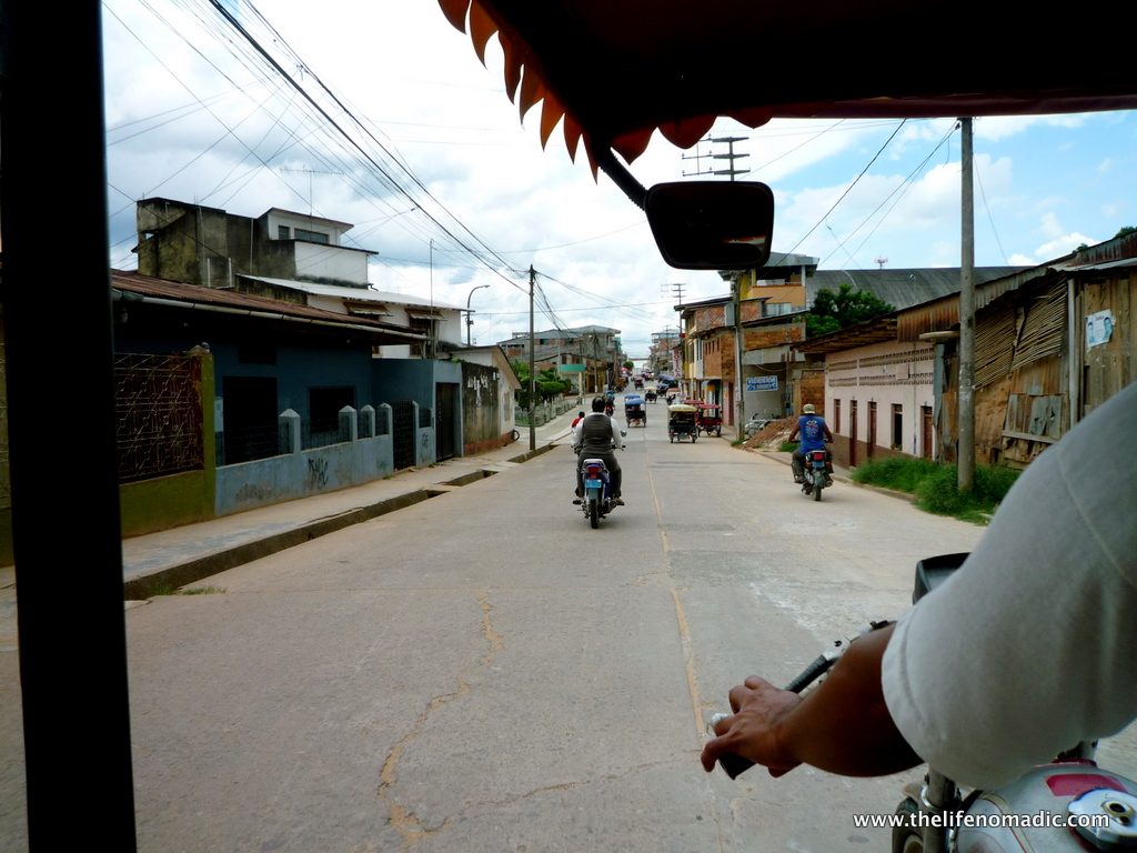 Riding into Yurimaguas