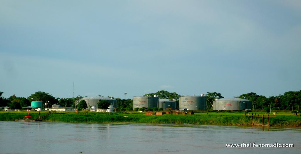 Oil village