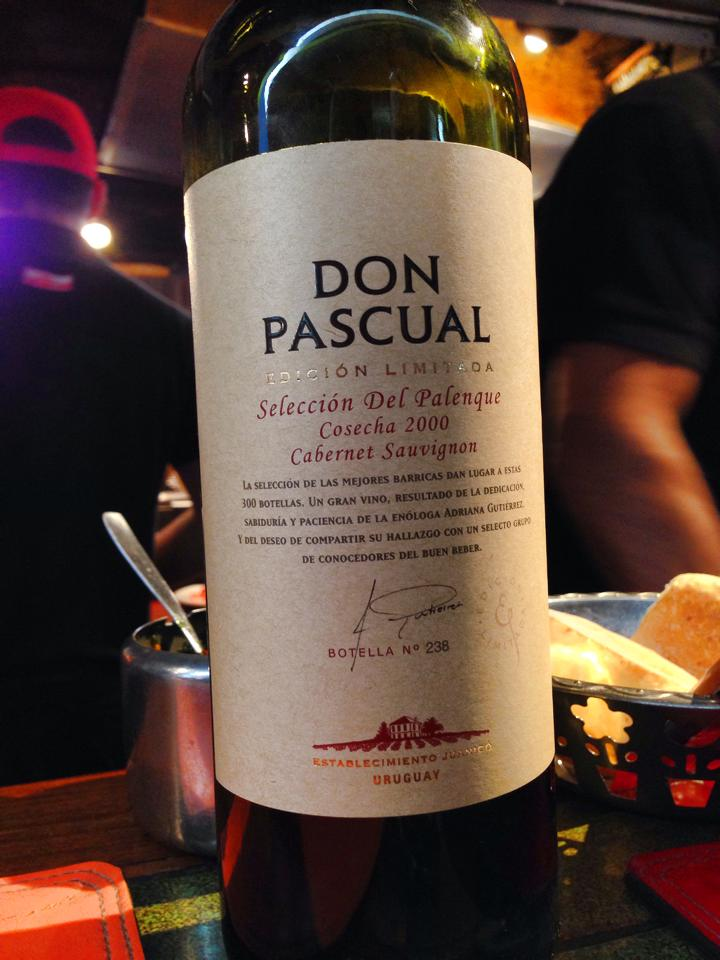 The wine bottled specifically for Palenque.