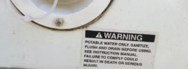 potable water only