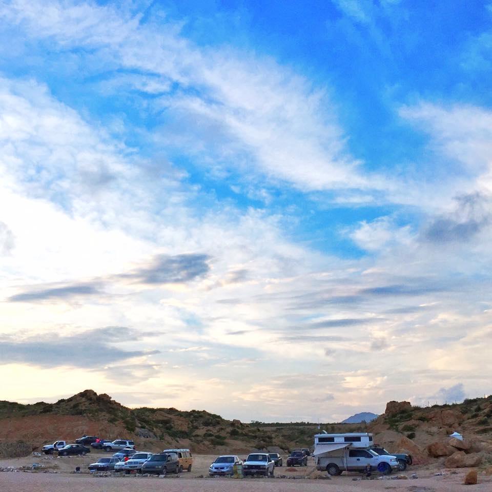 Camping near Cabo San Lucas