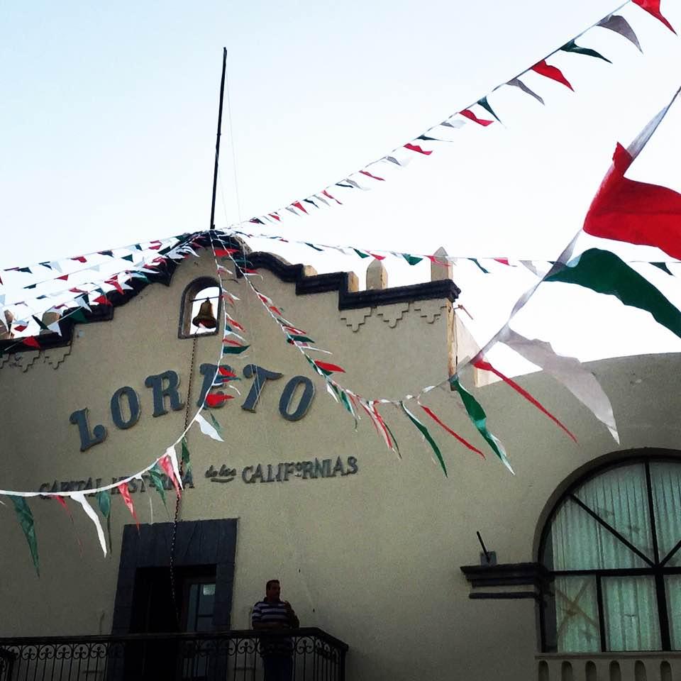 Loreto's tiny town square.